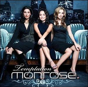 Cover Album Temptation von Monrose