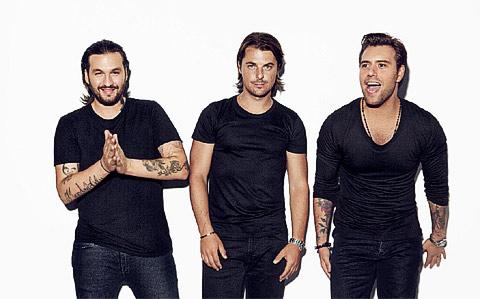 Die Swedish House Mafia 2012
