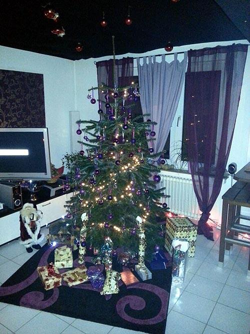 Weihnachtsbaum bei Dean 2012