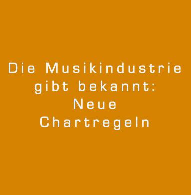Neues Chartregelement der Musikindustrie: beginnt jetzt der große Beschiss?