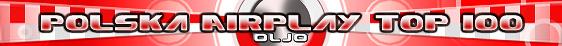 Polska Top 100 Radio Airplay Chart exclusive on OLJO.de